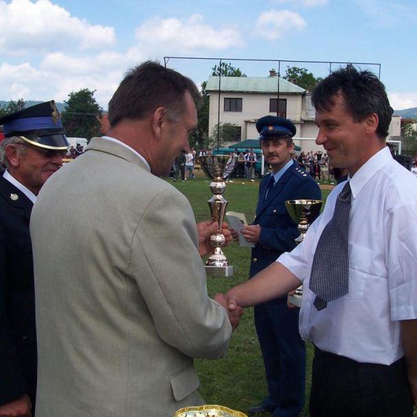 Požiarnické preteky  Granč-Petrovce 2005